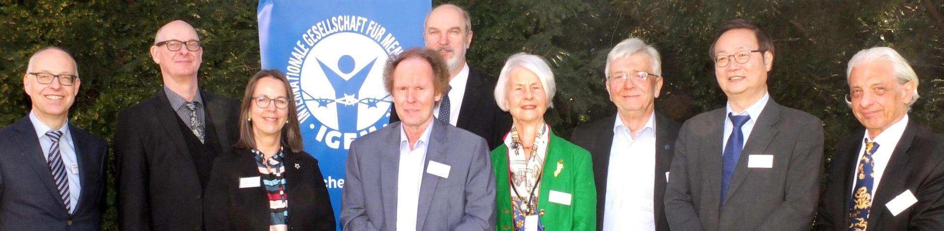 Der Vorstand der IGFM im Jahr 2018