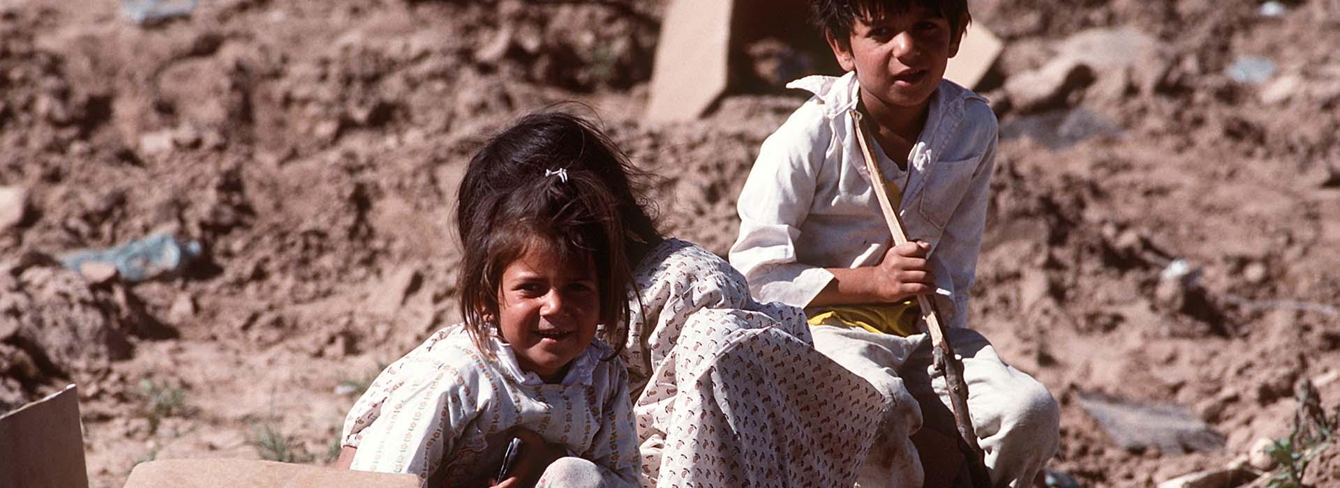 Bereits Saddam Hussein verfolgte und ermordete Kurden.