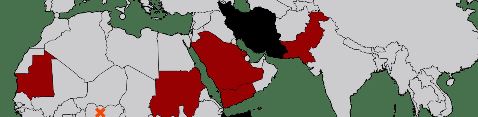 in welchen ländern ist ehebruch strafbar