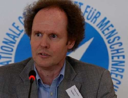 IGFM-Vorsitzender Edgar Lamm
