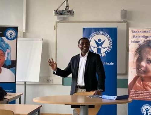 IGFM informiert an Schule über Menschenrechte