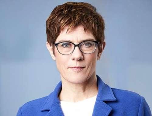 Annegret Kramp-Karrenbauer an die IGFM