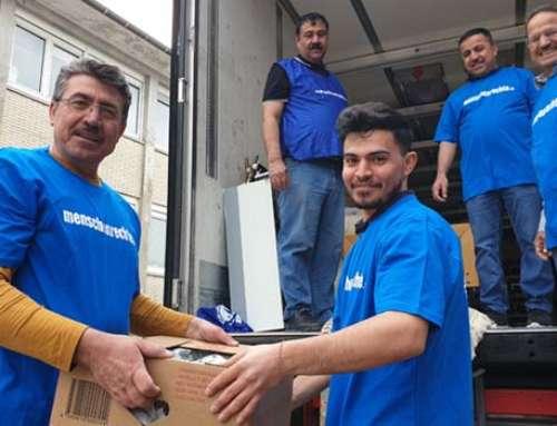 25. Hilfstransport der IGFM in Flüchtlingslager im Nordirak