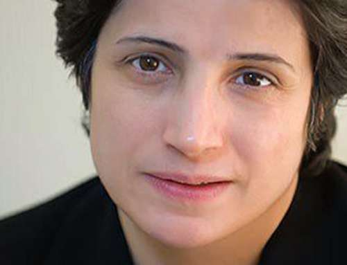 Resolution zur Freilassung von Nasrin Sotoudeh