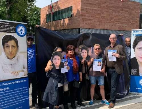 Mahnwache für Frauenrechte im Iran