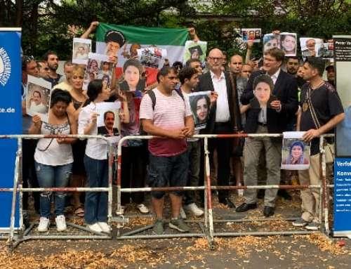 IGFM-Mahnwache für Religionsfreiheit im Iran