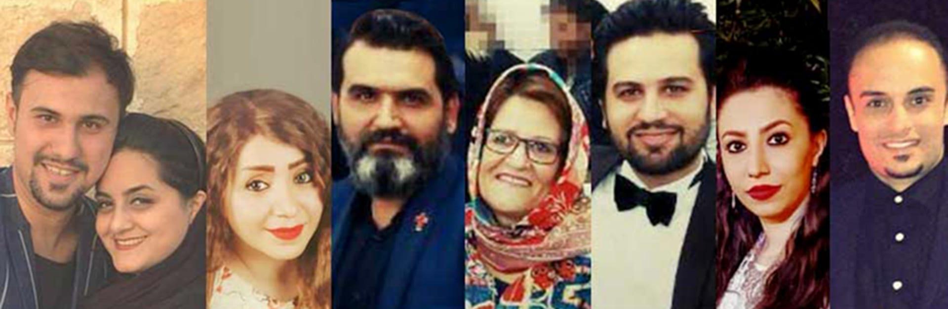 Sieben gefangene iranische Konvertiten