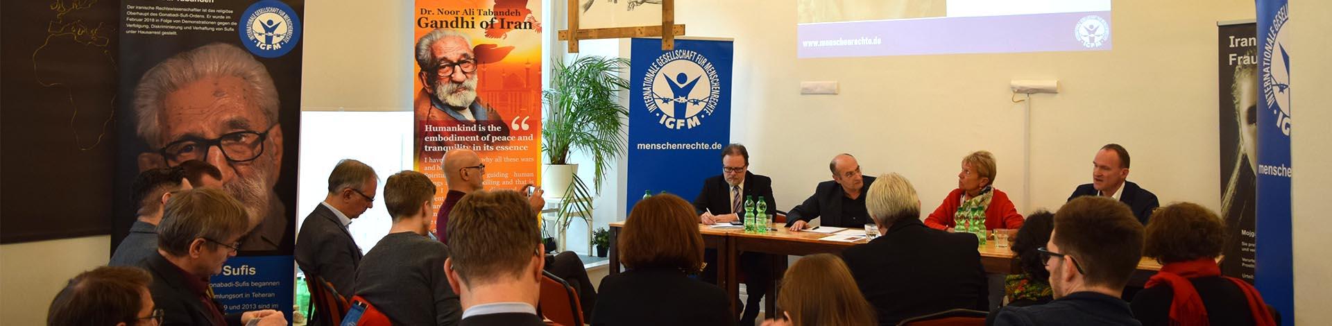 Keine Toleranz für den Folterstaat Iran. Iran-Symposium am 6. Dezember in Berlin