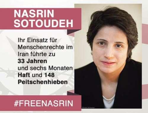 Unterstützungsaufruf für Nasrin Sotoudeh