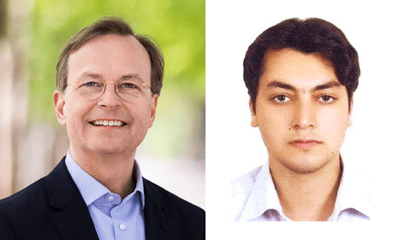 Thomas Rachel und Mohammad Ali Mosayebzadeh