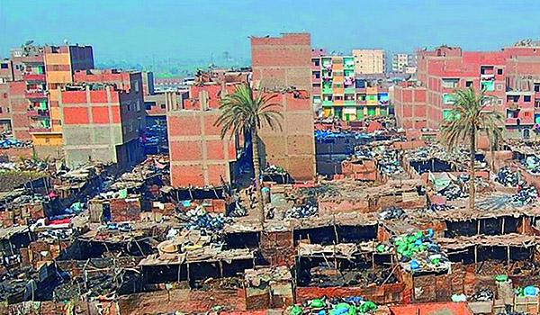 Ägypten-Kairos-Müllverwertungsviertel-Moytamadeia