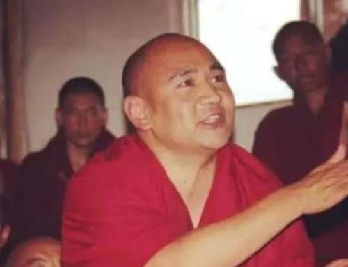 Tibetischer Gelehrter und Schriftsteller in Isolationshaft